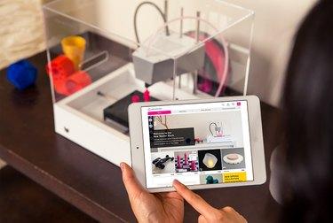 The MOD-t 3D printer
