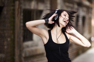 Enjoying music
