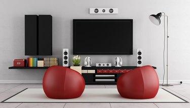 Modern TV wall unit