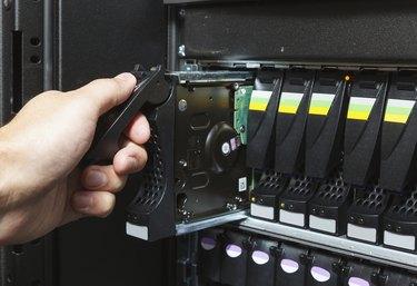 replacing a failed hard drive