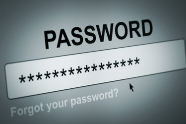 Password Box in Internet Browser