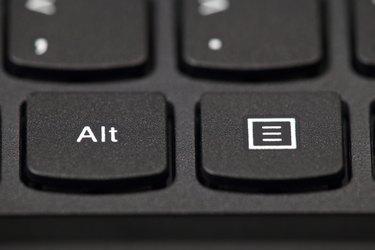 Black Laptop Keyboard