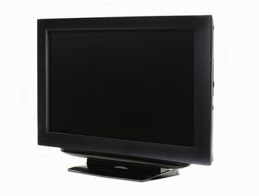 LCD HDTV, side view left