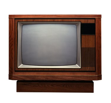 Console television