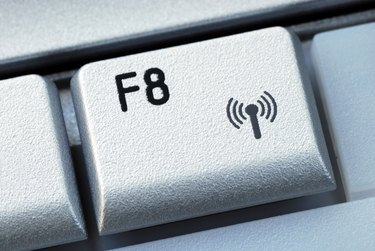 The function F8 key