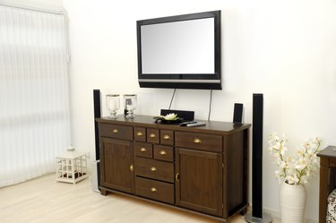 Room and tv