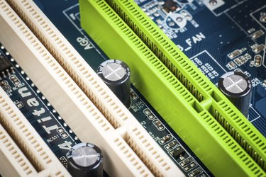 PCI, AGP sockets