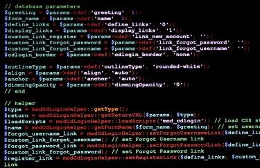 Website Programming Language
