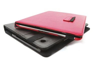 Closed Black tablet case