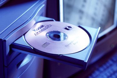 CD rom in computer