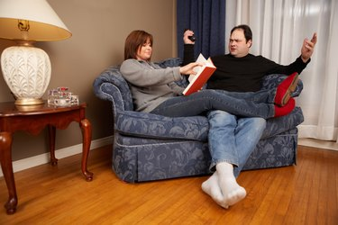 Man ignored by wife is frustrated