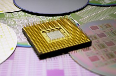 Microprocessor and other computer components