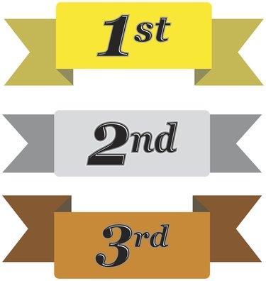 Winners Ribbons