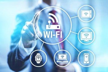 Wi-fi concept illustration