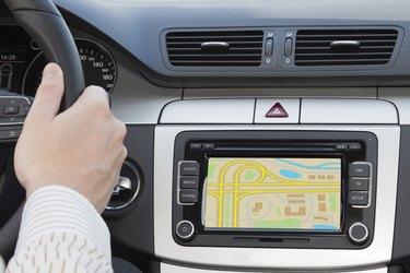 GPS navagation in modern car