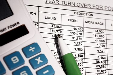 Spreadsheet With Calculator