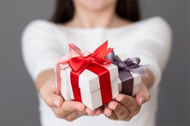 A small gift box