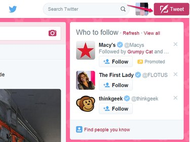 Click Tweet Button