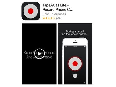 TapeACall app in the App Store