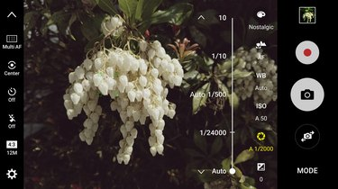 Minimize blur by controlling the shutter speed.