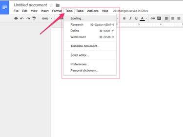 Google Docs (Chrome)
