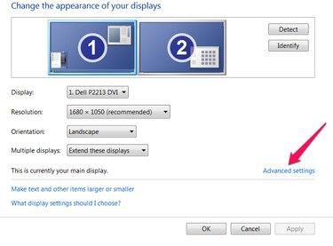 Select Advanced Settings.