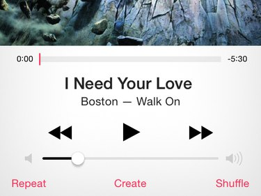 Music app playback controls