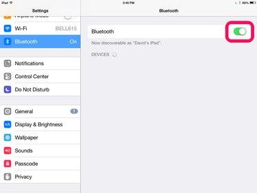 Bluetooth is on.