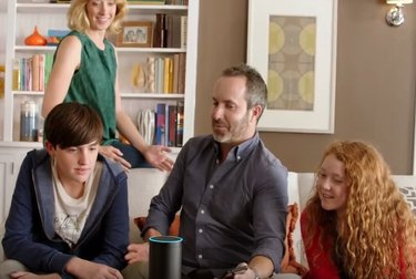 Image from an early Amazon Echo commercial