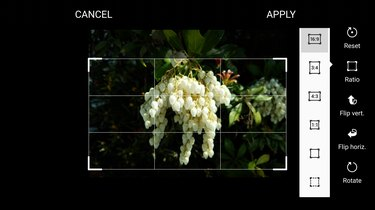 Crop and change an image's aspect ratio.