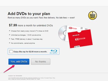Add DVDs to Your Account