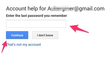 Account help offers two options.