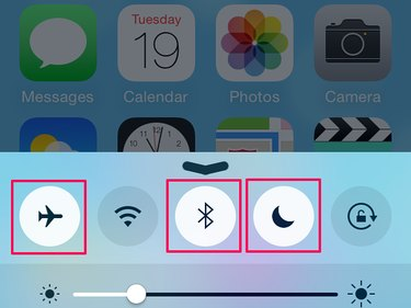 You can turn off modes in Settings.