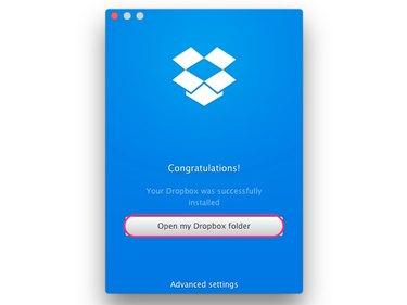 Syncing the Dropbox folder