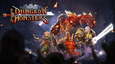 In Dungeon Monsters you have your choice of a cast of characters.