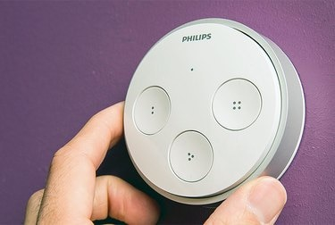 A Philips Hue tap switch