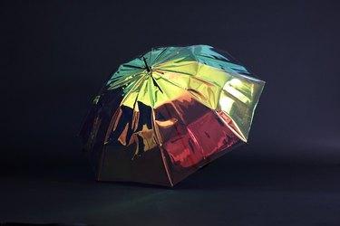 A smart umbrella.