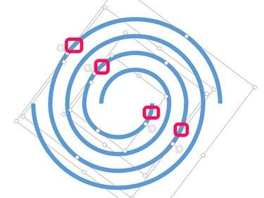 Four selected arcs