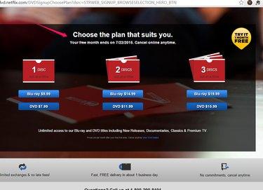Choose Your DVD Plan