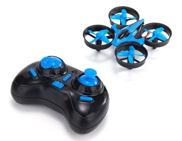 The JJRC H36 mini drone.
