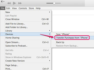 Transferring purchases does not replace syncing; use both.