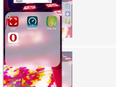 Removing an app in a folder through iTunes