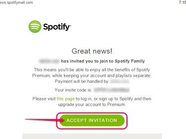 Click Accept Invitation.