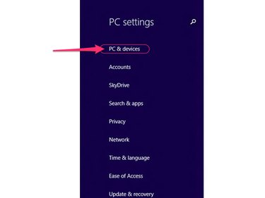 Select PC & Devices.