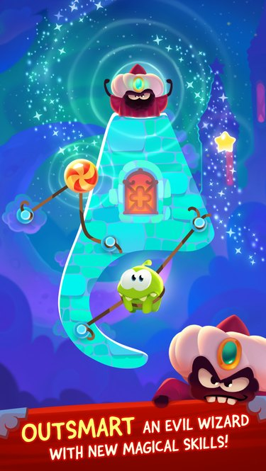 Cut the Rope: Magic is a great new version in the classic series.