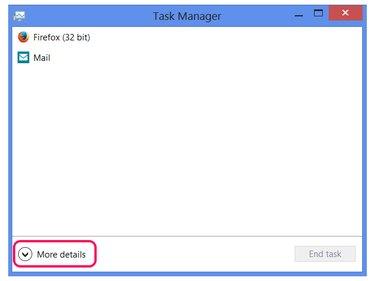 Open Task Manager details