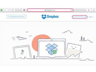 Downloading app from dropbox.com