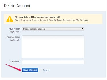 Type Your Password and Click Save Changes