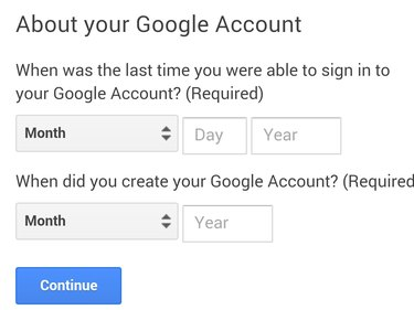 Answer questions about your account.