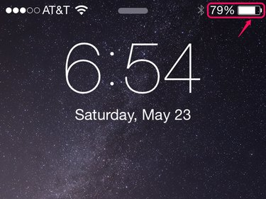The phone stops charging early if it gets too hot.
